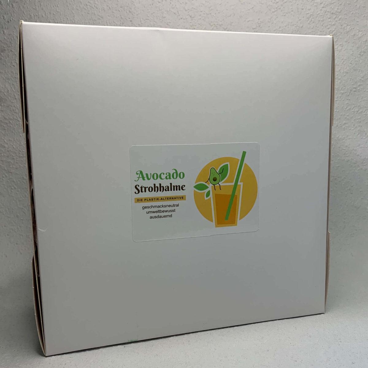Avocado-Strohhalme